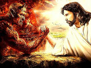 God vs Devil