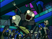 Invader Zim Zombies
