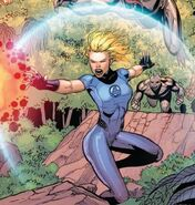 Invisible woman forcefield