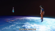 Goku & Beerus in Space