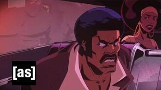 Ninja Bomb Black Dynamite Adult Swim