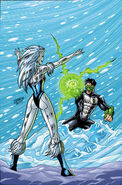 Louise Lincoln Killer Frost (DC Comics) Kyle Rayner