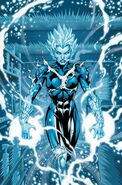 Caitlin Snow Killer Frost (DC Comics) cold
