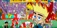 Johnny Test 4th wall