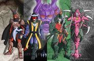Dark Warlords (Ronin Warriors)