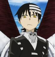Death the Kid (Soul Eater) glare