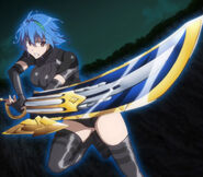 Xenovia and Ex-Durandal in DxD HERO Opening
