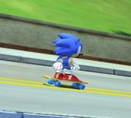 Skateboard Classic Sonic