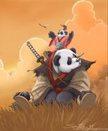 Two Pandarens (Warcraft)
