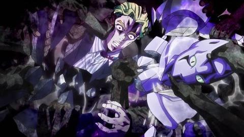 【HD】ジョジョ Yoshikage Kira Gets Dragged to Hell