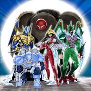 Elemental Heroes (Yugioh GX)
