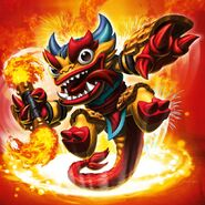 Fire Kraken (Skylanders Swap Force)