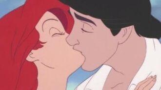 The Little Mermaid - Triton turning Ariel human