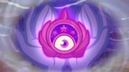 Time Twirler opening its eyeball EGSBP