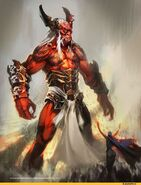 Trigon (DC Comics) giant