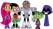 Teen Titans Go Teams