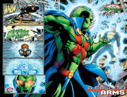 Telekinesis by Martian Manhunter