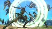 Shibata Katsuie's dual-headed naginata