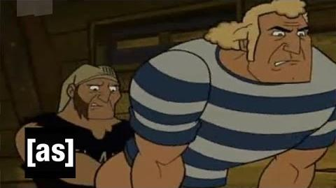 Ass Fighting The Venture Bros. Adult Swim