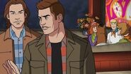 'Supernatural' 'Scooby-Doo' Crossover Scene -- 'ScoobyNatural'