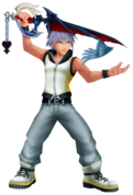 Riku (Battle) KH3D