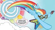 Rainbow Dash Sonic Rainboom