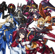 Infinite Stratos Personal IS pilots
