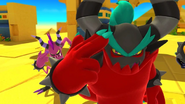 Deadly Six (Sonic Lost World) control robots