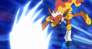 Infernape and mach punch