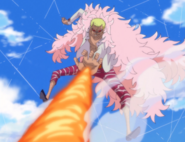 Doflamingo's OVERHEAT!!!!