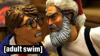 Santa And Coke Robot Chicken Adult Swim