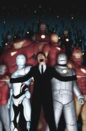 Iron Man Armors Secret Wars Vol 1 6 Midtown Comics Variant Textless