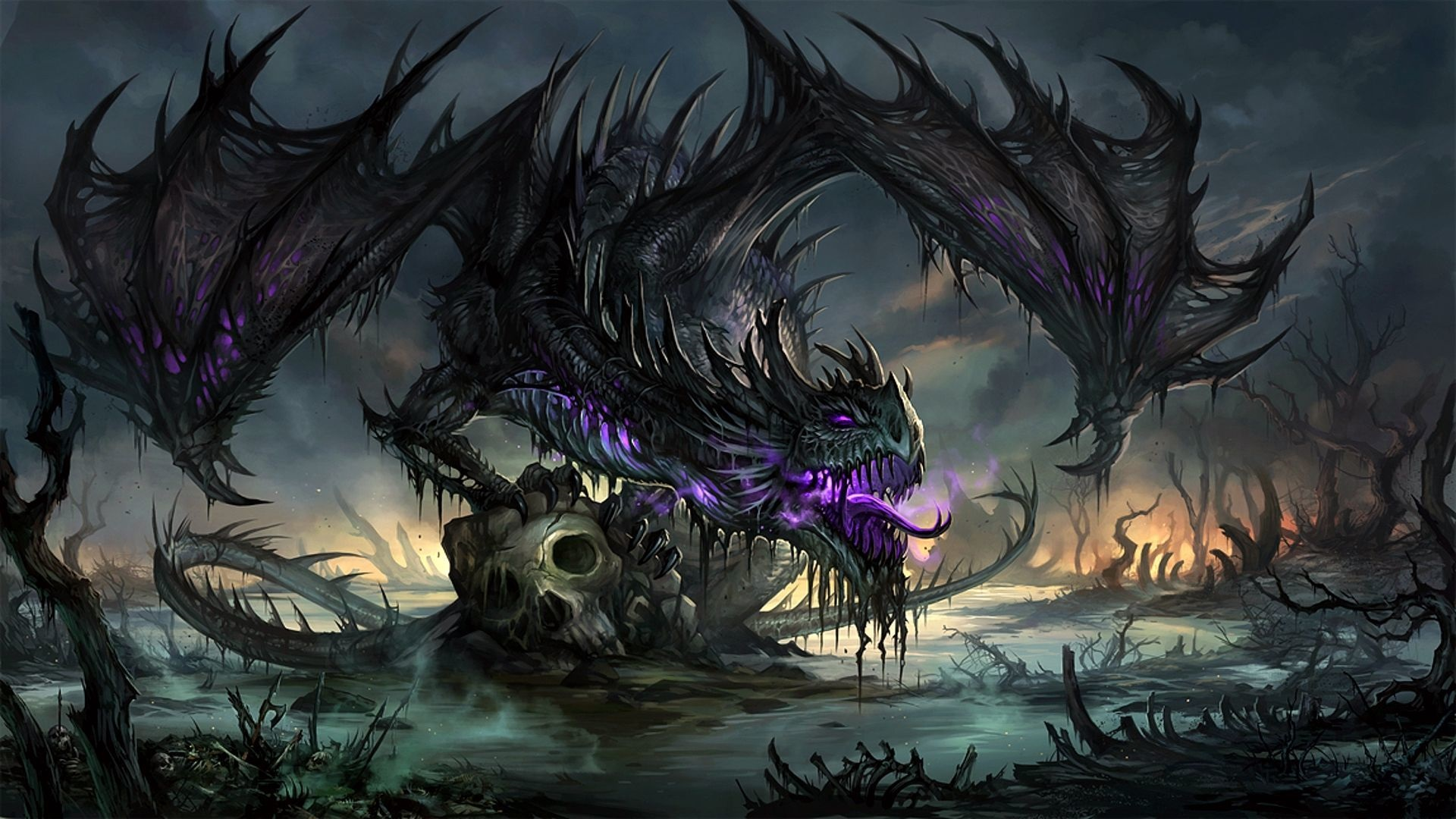 image - purple-dragon-fantasy-hd-wallpaper-1920x1080-44644