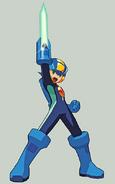 Mega Man Exe Sword