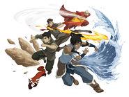 Avatar Korra's Team