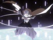 Rukia Kuchiki (Bleach) Ice pillar 1