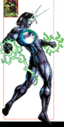 Sonny Baredo Humus Sapien (Earth-616) from Official Handbook of the Marvel Universe A-Z Vol 1 5
