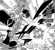 Ice Devil's Zeroth Destruction Fist