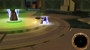Eco teleport power in action
