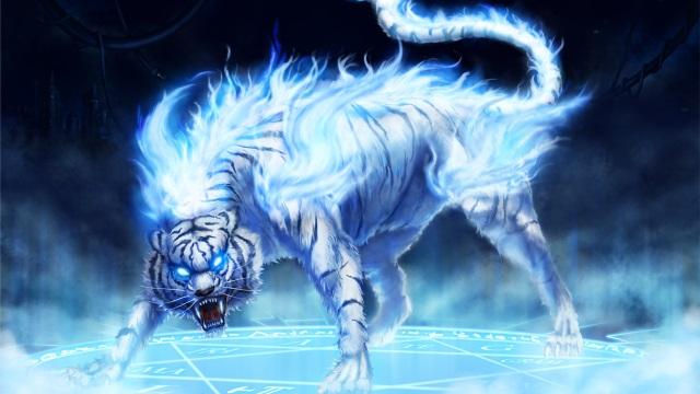 Seraphina's Tiger Form