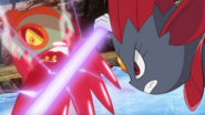 Alain Weavile Night Slash