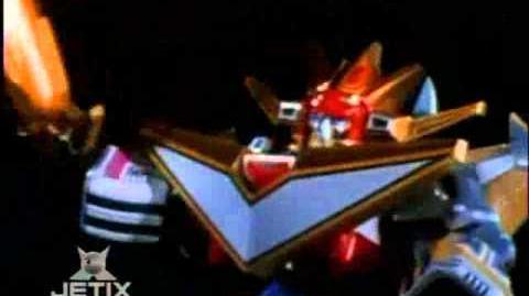 Power Rangers Lost Galaxy - Galaxy Megazord Finisher 3