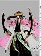Bleach shunsui kyoraku by sosolcrean15-d5kn7c8