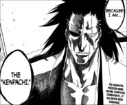 Kenpachi Zaraki of the name