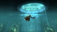 Kratos Swims