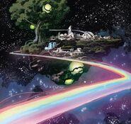 Bifrost Bridge (Marvel Comics) Asgardia from Doctor Strange Vol 1 383 001