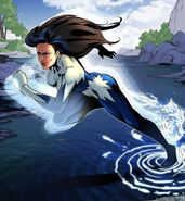 Jeanne-Marie Beaubier Aurora (Earth-616) from X-Men Battle of the Atom Mobile Card Game 002
