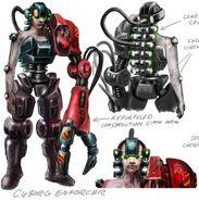 System Shock Cyborg Enforcer
