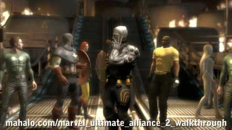 Marvel Ultimate Alliance 2 Walkthrough - Ambush - Intro Cutscene