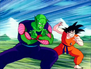 Son Goku and Piccolo (Dragon Ball series) vs Raditz